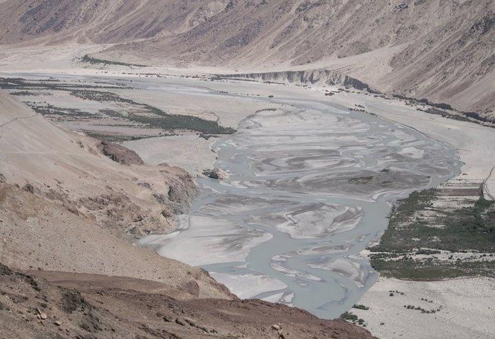 Shyok River @ Nubra Valley Fiume Shyok nella Val di Nubra