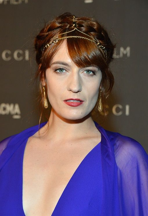 Florence Welch - Capelli Lunghi