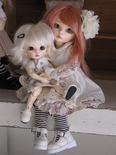 Sisters...... by ElfinHugs, via Flickr: