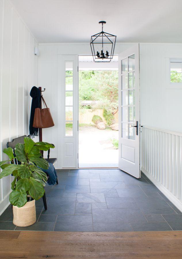 Blue Slate Entry Way Tile Entryway Flooring Foyer