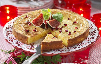 Kladdkaka i adventstid ca 8 bitar 100 g vit choklad 100 g smör ½g...