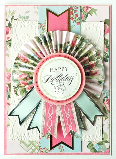 Beautiful layers © Anna Griffin, Inc.  https://www.facebook.com/CardMakingStudio                                                                                                                                                      More