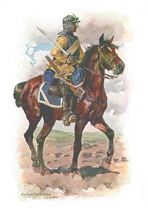 Reuter des Regiments zu Pferd Beauvon, 1682