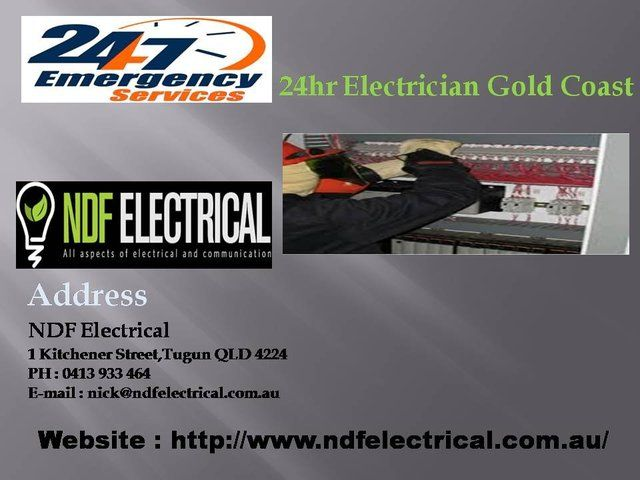 Are you looking for Professional and experience Electrical contractors in the Gold coast area? Then, NDF Electrical is the best choice for your electrical work. We are particular Electrical construction business related to the design, installation, and maintenance.
