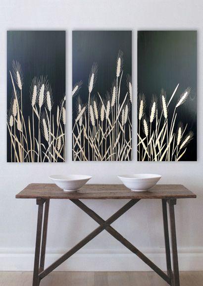 Wheat Field (3 panel)