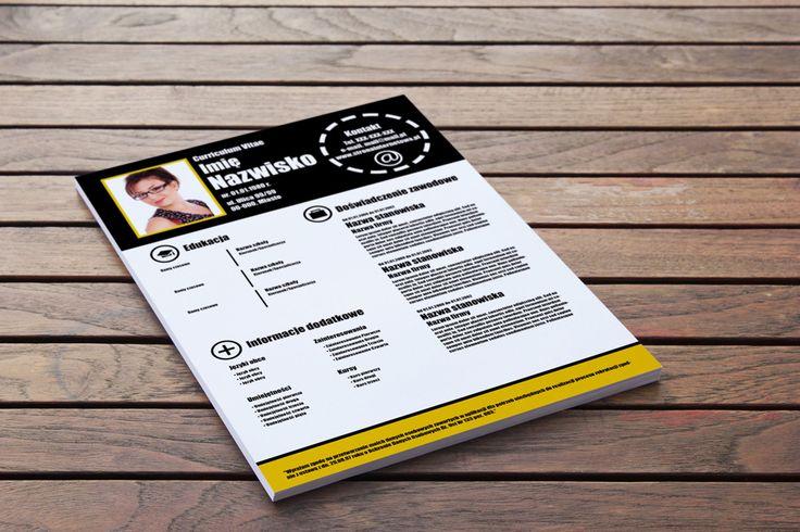 Szablon CV, Infografika CV – Wyróżnij się to świetna połączenie stylu i funkcjonalności nowoczesnego, kreatywnego CV -> http://cv-szablony.pl/wzor-cv/szablon-cv-infografika-cv-wyroznij-sie