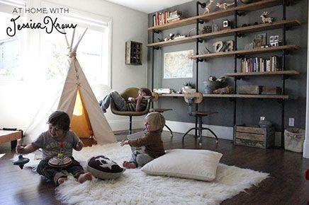 Kinderkamer ideeën voor drie jongens- blog Inrichting Huis