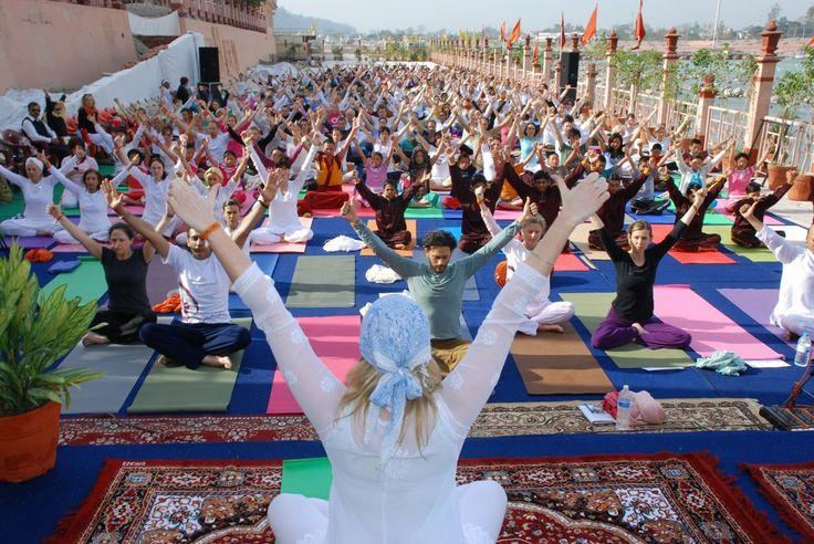 International Yoga Festival - Parmarth Niketan, Rishikesh, India