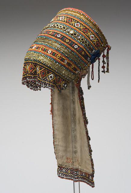 Russia, headdress from Samara, front view