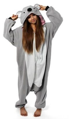 teen onesies halloween | Koala onesie! My costume for next years Halloween