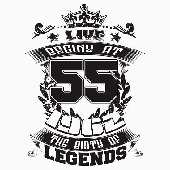 LIVE BEGINS AT 55 1962
