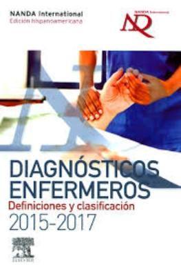 Guía definitiva de los diagnósticos enfermeros revisados y aprobados por NANDA-I. La presente edición (2015-2017) ha sido rigurosamente actualizada y revisada por un equipo de expertas españolas en taxonomías enfermeras. Cada uno de los 235 diagnósticos presentados está basado en las definiciones, así como en las características definitorias y los factores relacionados o factores de riesgo. N° de clasificación: 610.73012 D536e 2015.