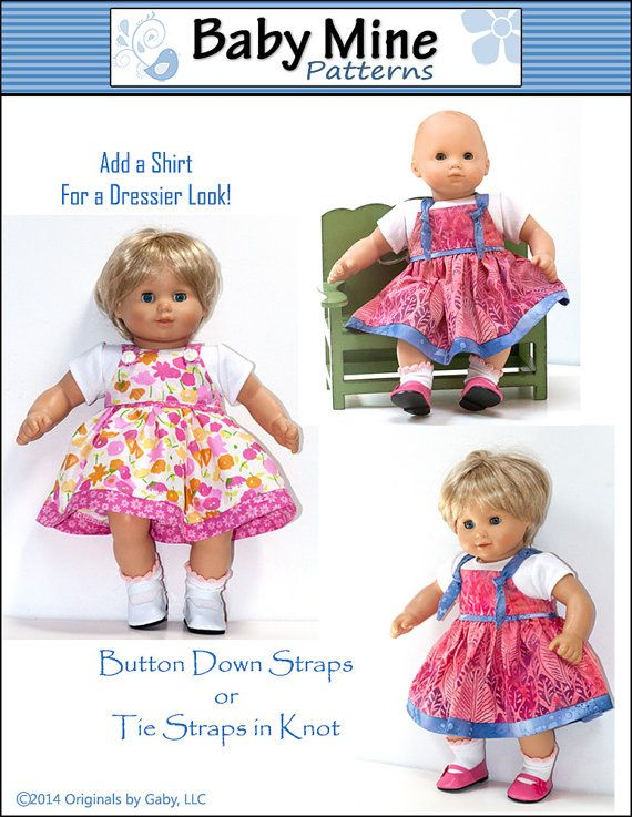 This weekend I made diapers for my little girl\'s doll. I probably ...