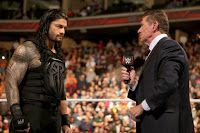 From The Mind Of A Non-Geeky Nerd: VINCE ISN'T HELPING ROMAN