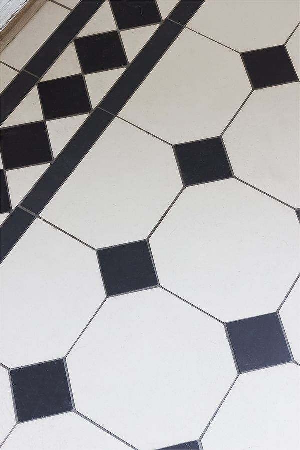 Victorian tiled flooring from Build Factory