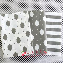 Юн Хи [-] серый хлопок ткань / ткань / ткань постельного белья / хлопчатобумажной ткани оптовой ткани оптом /