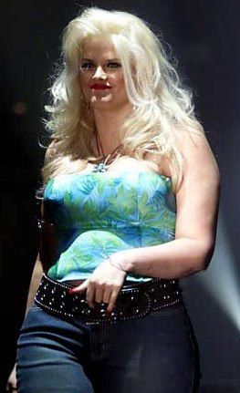Glamour Girl Wallpaper Anna Nicole Smith When She Was Fat Remembering Ana