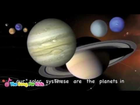 ▶ The Planets Song - The Song For Kids Official - YouTube