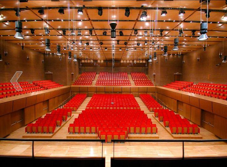Auditorium Parco della Musica, Rome (2002)   Renzo Piano