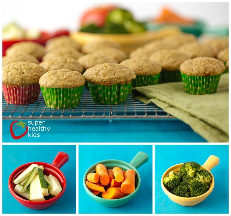 Fruit and Veggie Muffin for Picky Eaters - not necessarily picky eaters here, just always looking to add more fruits and veggies.