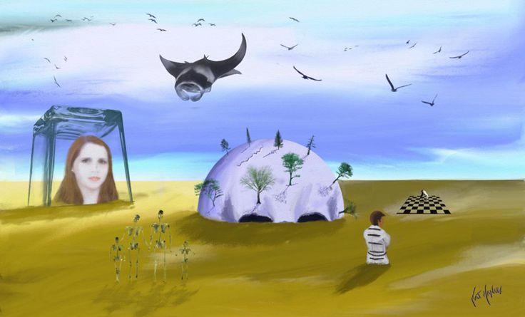 Surrealism-The Family Island - Famille de l'île