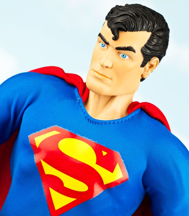 2. Superman - Created by Canadian-born artist Joe Shuster and American writer Jerry Siegel in 1932.