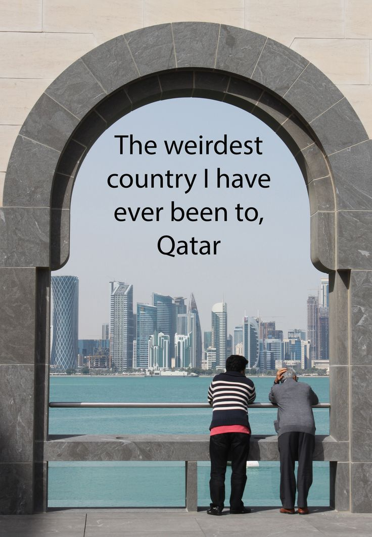 The weirdest country I have ever been to is without a doubt Qatar and here is why: http://aworldofbackpacking.com/det-maerkeligste-land-qatar/