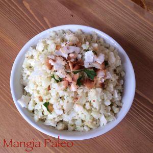 creamy coconut cauliflower rice #paleo #glutenfree