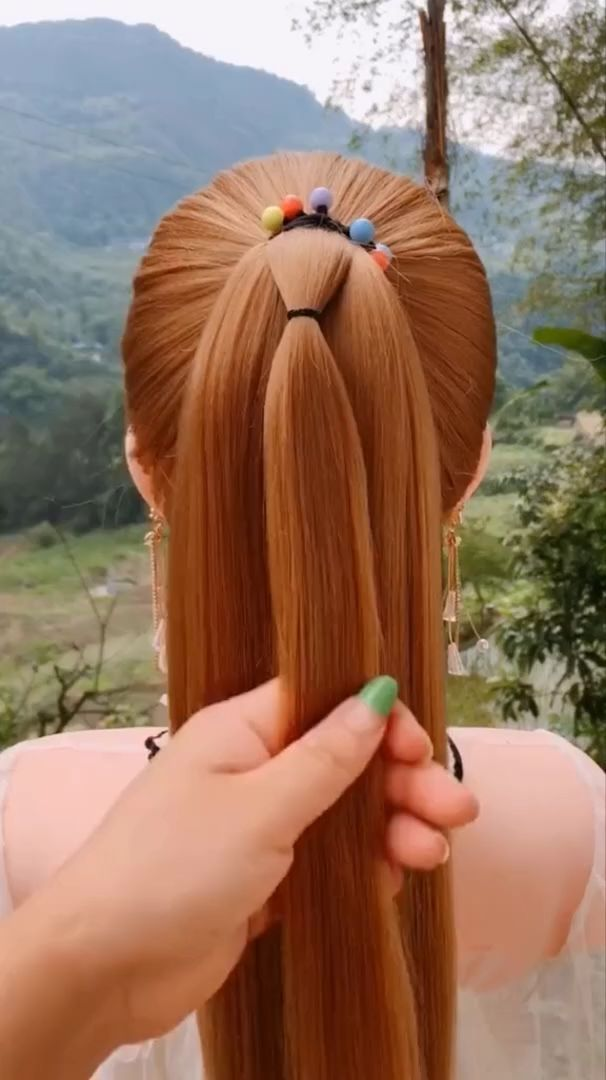 hairstyles for long hair videos  Hairstyles Tutorials Compilation 2019   Part 273 -  🌟Access all the Hairstyles:  – Hairstyles for wedding guests – Beautiful hairstyles for scho - #compilation #hair #hairstyles #long #Part #tutorials #videos