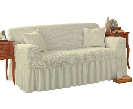Delightful For My Red Furniture In The Formal Living Room? Same Style Couch.Love This  In Vintage Off White For Sure But Need A Bold Red Or Navy For Sure.