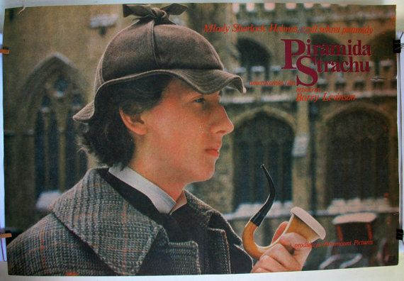 Young Sherlock Holmes  USA film 1985s by Barry by artwardrobe, $20.99