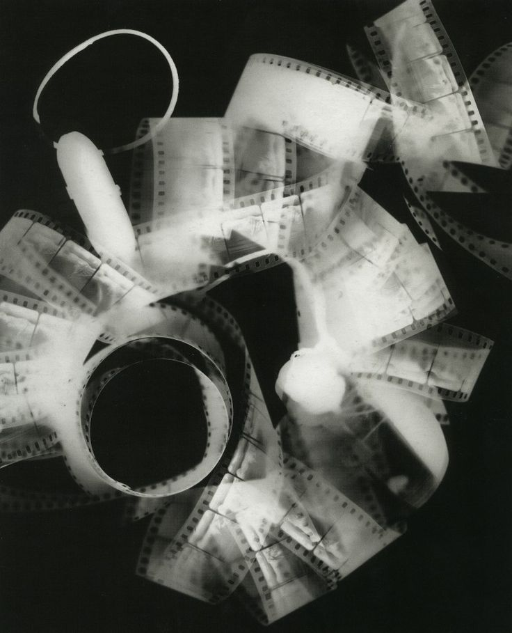 Man Ray photogram I could use the film in my own photograms as they let some…