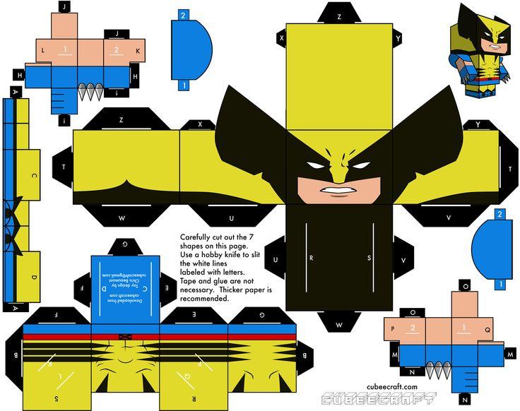 Marvel En Cubeecraft - Taringa!