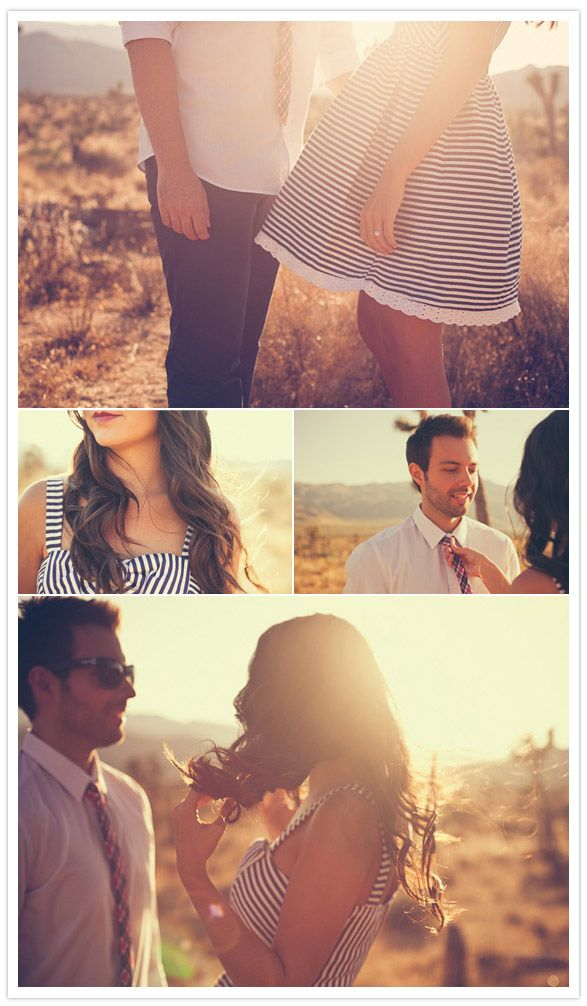 LOVE this desert sunset shoot by Hollin Brodeur!