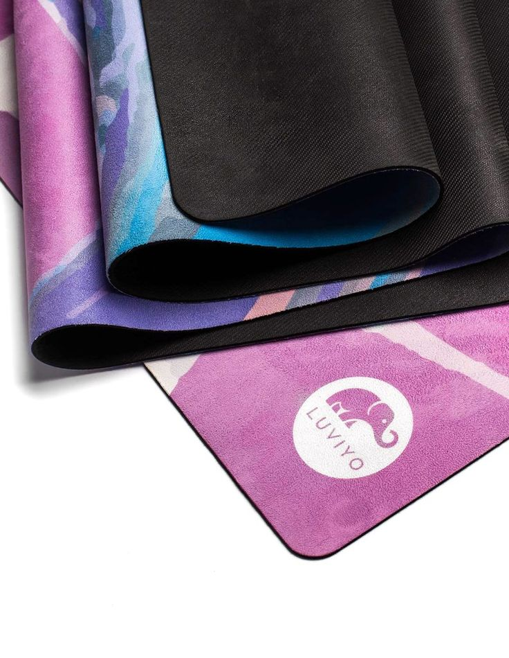 All-In-One Yogamatte Pink Marble