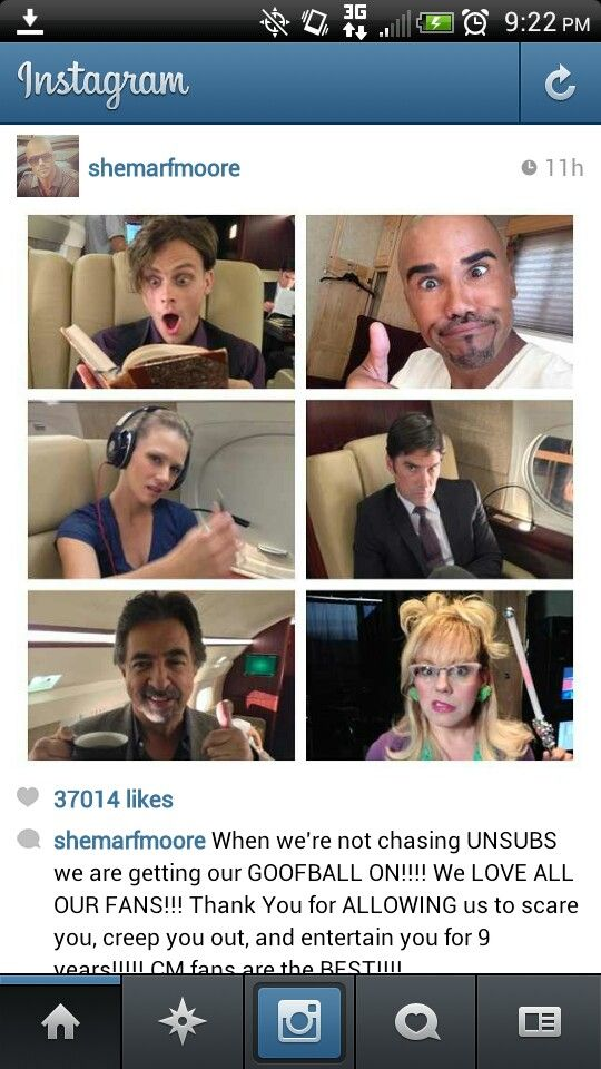 Before i die i would love to meet the cast of Criminal Minds! Favorite show right now!