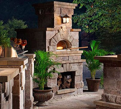 Outdoor brick pizza oven-this is a must and girlfriends have already planned many gatherings around brick oven homemade pizza!