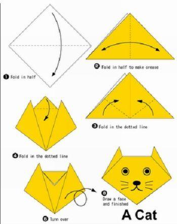 origami passo a passo - Pesquisa Google