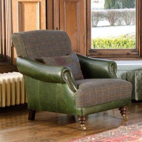 Marvelous Harris Tweed Chairs : Taransay Ladies Chair