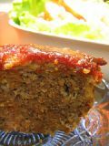Easy Meatloaf Recipe With Oatmeal (can substitute 1/2 ketchup amount with BBQ sauce)