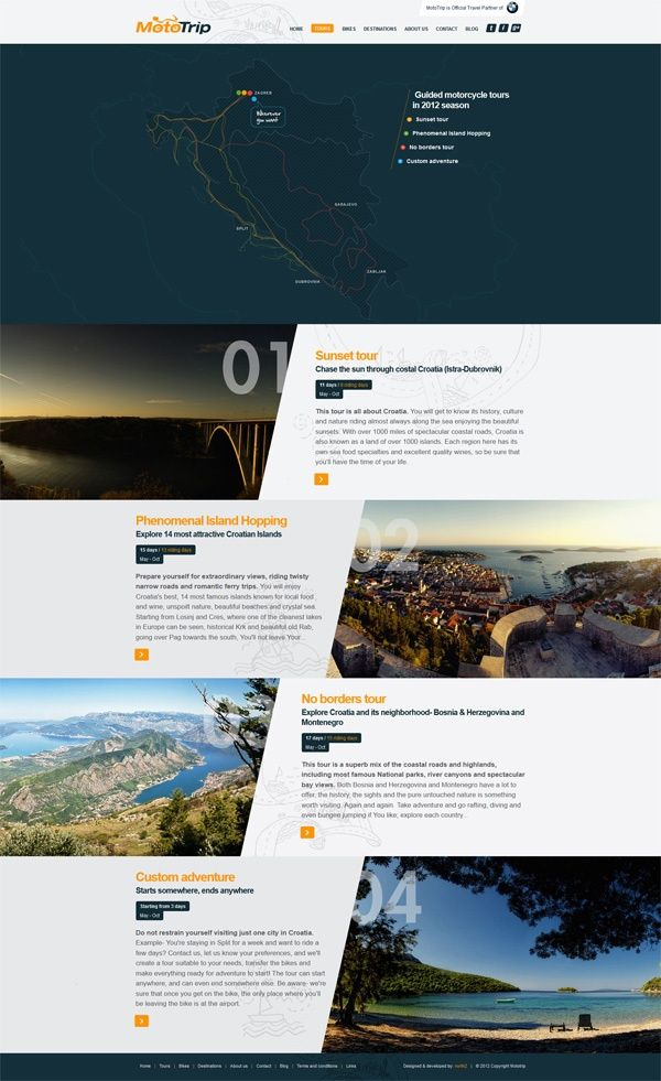 Ideas & Inspirations für Web Designs Webdesign Schweizer Webdesign http://www.swisswebwork.ch
