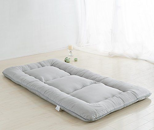 Light Grey Futon Tatami Mat Japanese Futon Mattress Cheap...