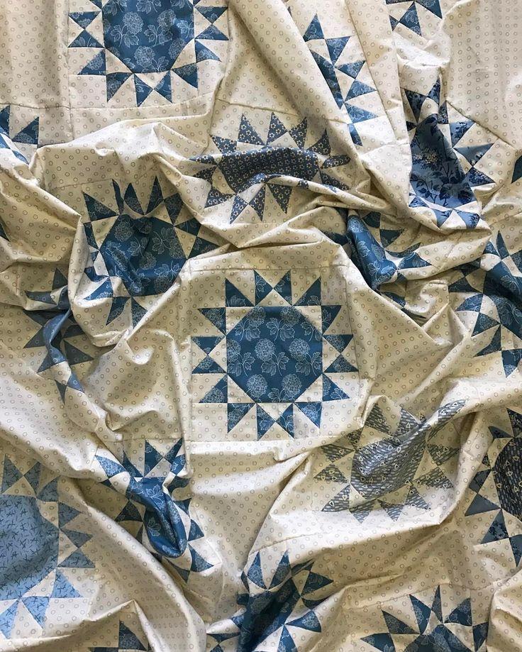 Laundry Basket Quilts - Blue Sky