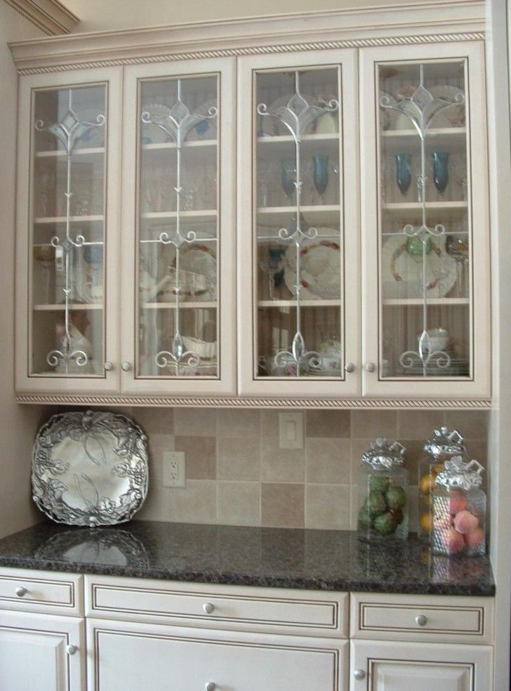 15 best Kitchen images on Pinterest Glass cabinet doors Glass
