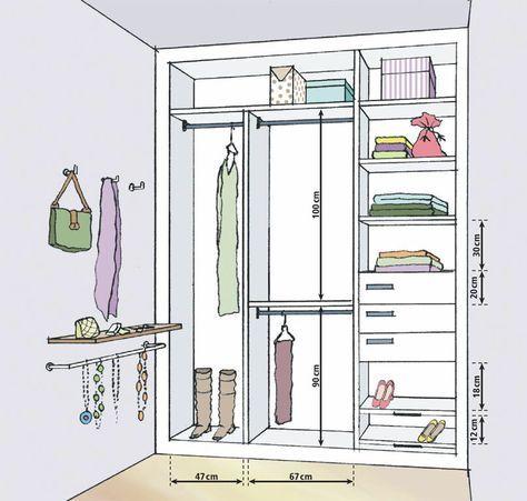 33 best mesures images on Pinterest Closet designs, Dresser in