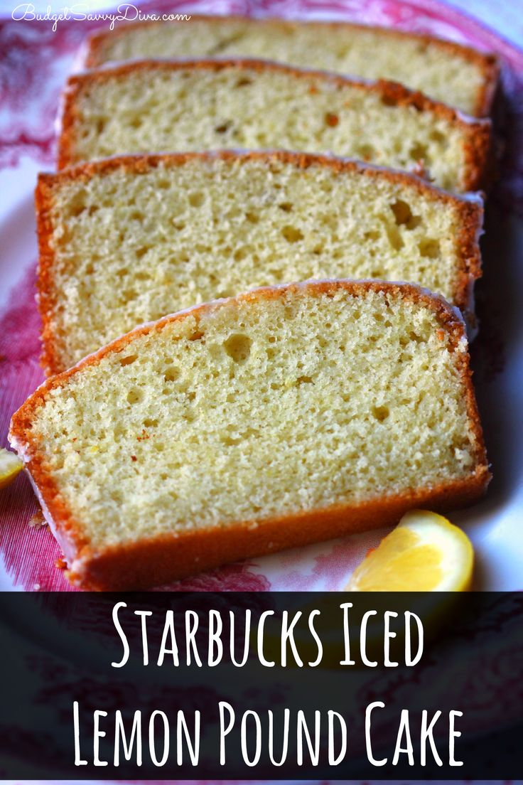 Iced Lemon Cake Starbucks