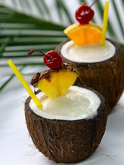 11 Tiki Drinks That Will Immediately Transport You to a Tropical Island (In Your Mind) | PIÑA COLADA  | No tiki drink round-up is complete without a classic colada, considering it's impossible to sip one of these and not imagine yourself poolside.