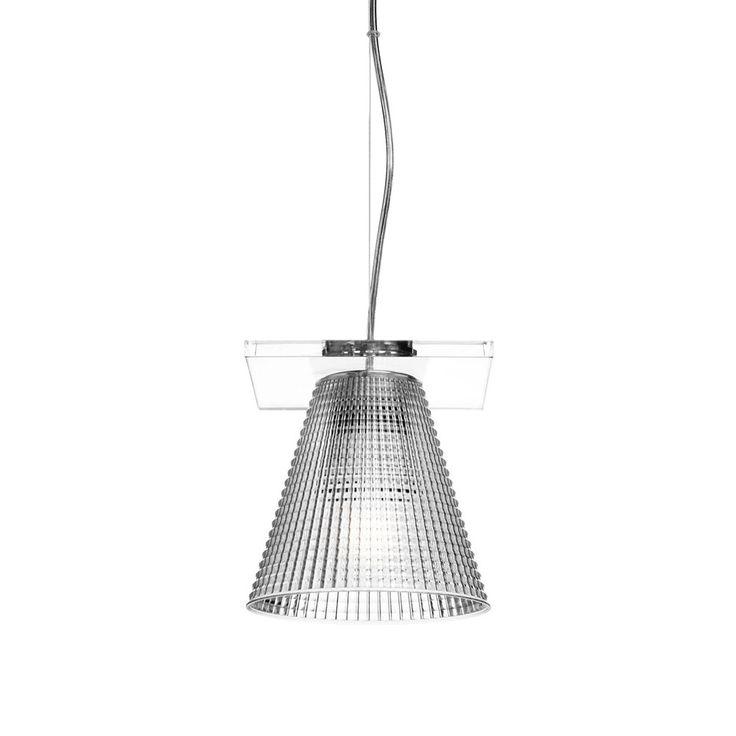 Kartell - Light-Air Pendant Lamp - Crystal