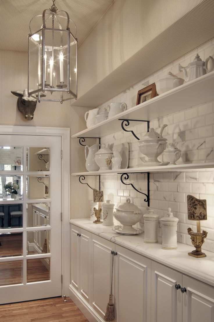 488 best butler 39 s pantry images on pinterest for Butlers kitchen designs