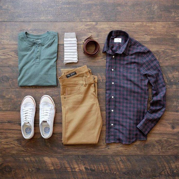Shirt: Pacific Issue // TShirt: Jachs NY // Denim: FNL Denim (similar) // Sneakers: Colchester Rubber Co. // Belt: Anson Belt // Socks: American Trench